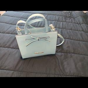 Christian Soriano Teal purse